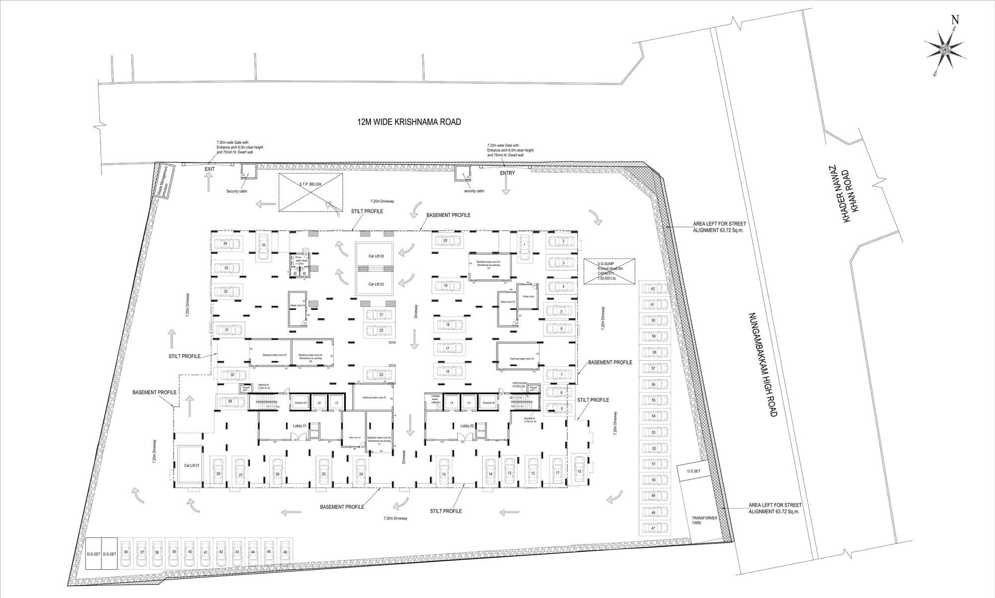 Notting Hill Site Plan Image